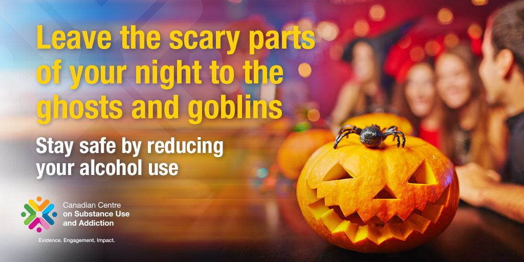 Leave the Scary parts of Your Night to the Ghosts and Goblins: Stay Safe by Reducing Your Alcohol Use