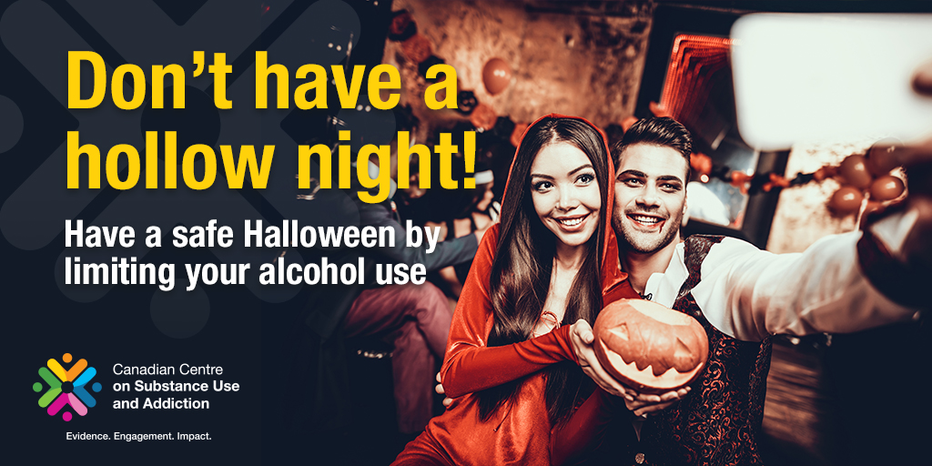 Don't have a Hollow Night! Have a Safe Halloween by Limiting Your Alcohol Use