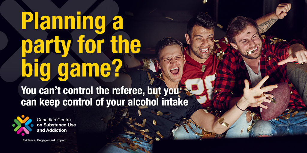 Planning a Party for the Big Game? You Can't Control The Referee, But You Can Keep Control of Your Alcohol Intake