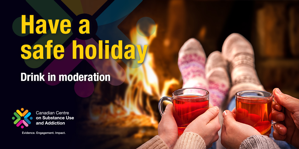 Have a Safe Holiday: Drink in Moderation