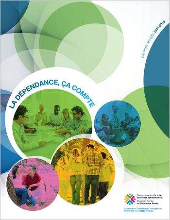La dépendance, ça compte : Rapport annuel du CCLT, 2014-2015