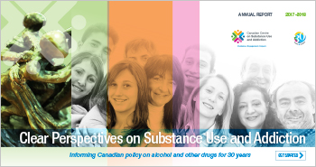 Clear Perspectives on Substance Use and Addiction: CCSA Annual Report, 2017-2018