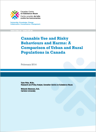 Cannabis Use and Risky Behaviours and Harms: A Comparison of Urban and Rural Populations in Canada