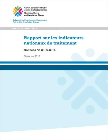 Rapport sur les indicateurs nationaux de traitement : Données de 2013-2014
