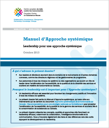 Manuel d'Approche systémique : Leadership pour une approche systémique