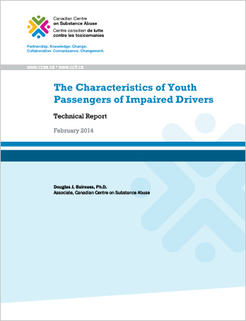The Characteristics of Youth Passengers of Impaired Drivers: Technical Report