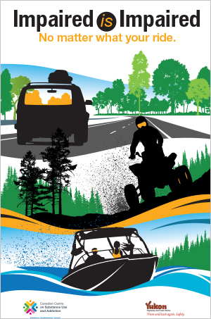 Impaired is Impaired: No Matter What Your Ride [summer poster]