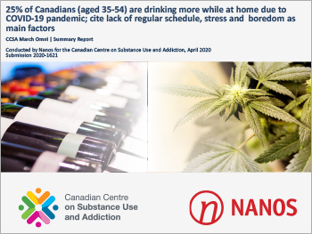 COVID-19 and Increased Alcohol Consumption: NANOS Poll Summary Report
