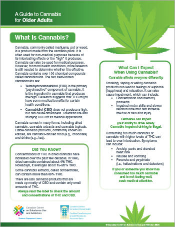 A Guide to Cannabis for Older Adults