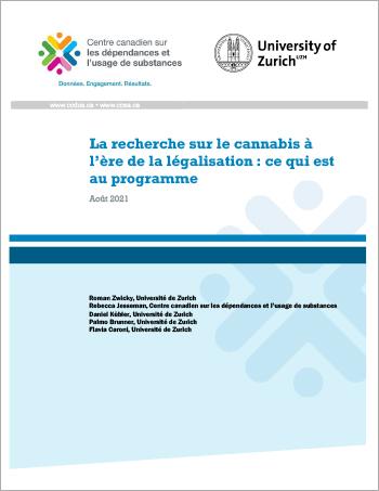 La recherche sur le cannabis à l'ère de la légalisation: ce qui est au programme